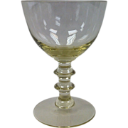 Depression Glass #13 Goblets By Duncan Miller