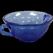 Depression Glass Royal Lace Cream Soup Bowl By Hazel Atlas