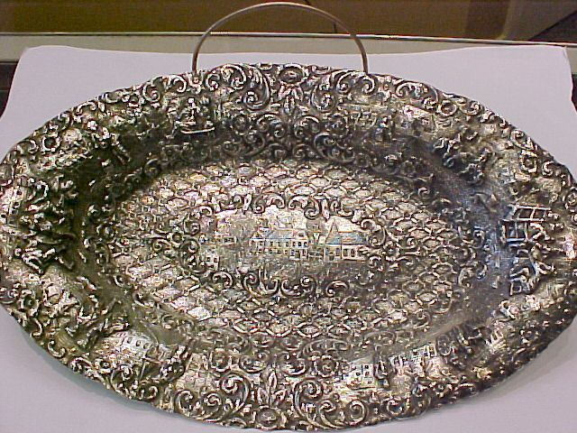 Continental  Silver Dish,  Elaborate Workmanship