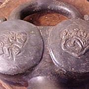 Pre-Columbian Stirrup Vessel, Chimu Culture Peru 900-1475 A.D.