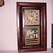 O.G. Clock Wm. L. Gilbert Connecticut Shelf Mantel C. 1840