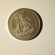 Commonwealth of the Bahamas Two Dollar Coin