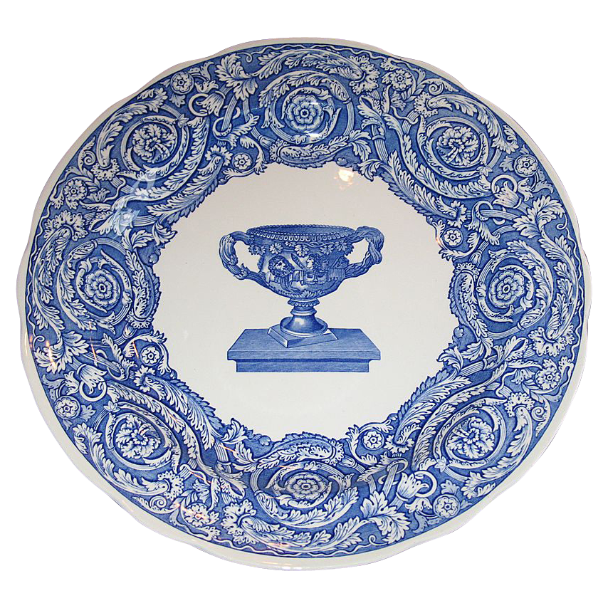 Spode Blue room collection plate