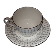 Paragon cup and saucer set.