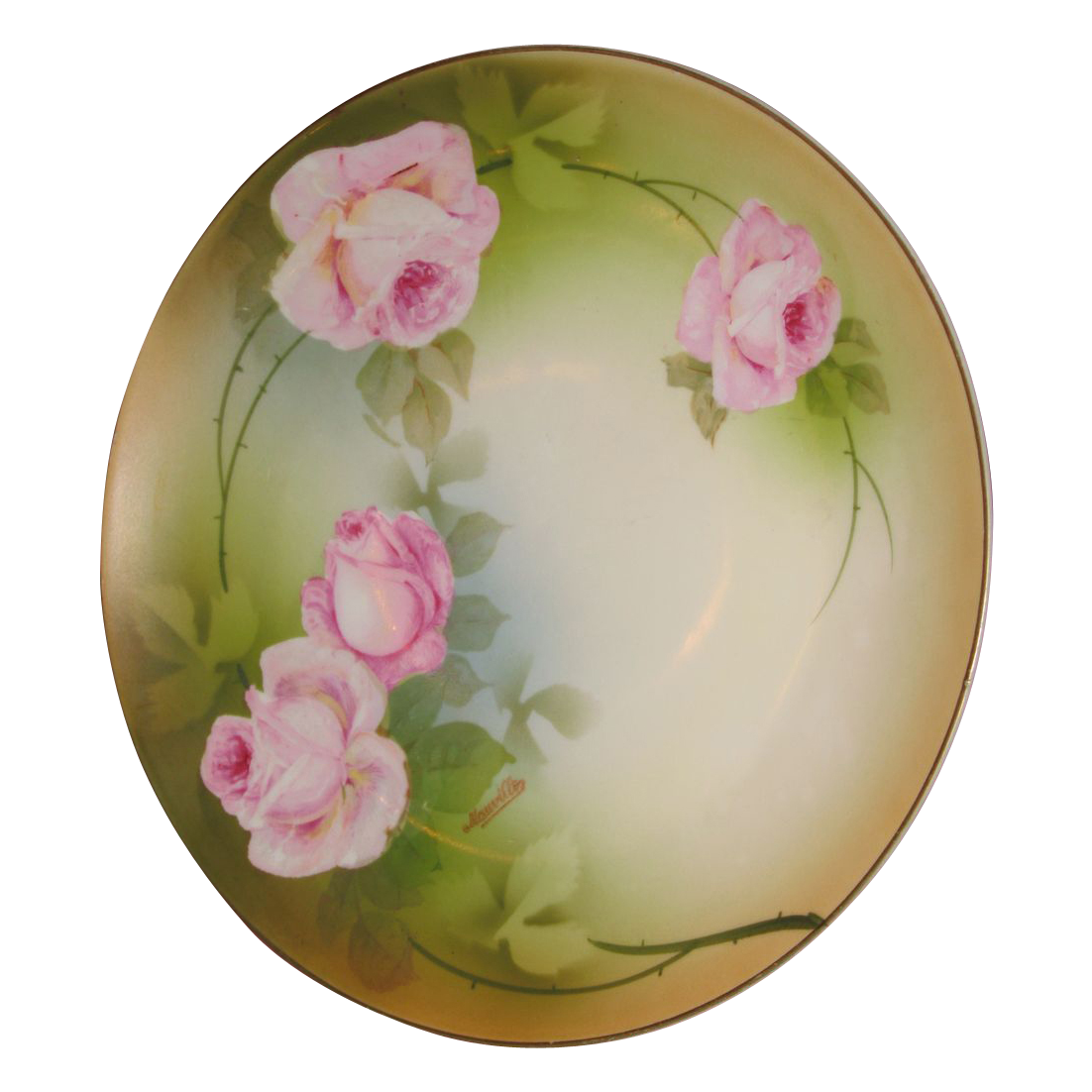 PSAG Mauville China  Plate Bavaria / Silver mark