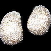 Synthetic Rhinestone  Earrings