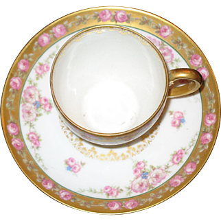Limoges GDA cup and saucer set
