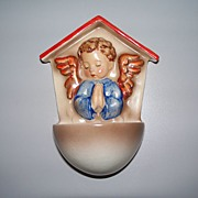 "Hummel ""Angelic Prayer ""  Incised  CROWN  Mark TMK #1, # 75  Large size"