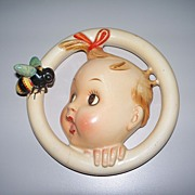 "Hummel ""Ba-Bee"" Wall Plaque Crown Mark TMK #1  30/0 B"