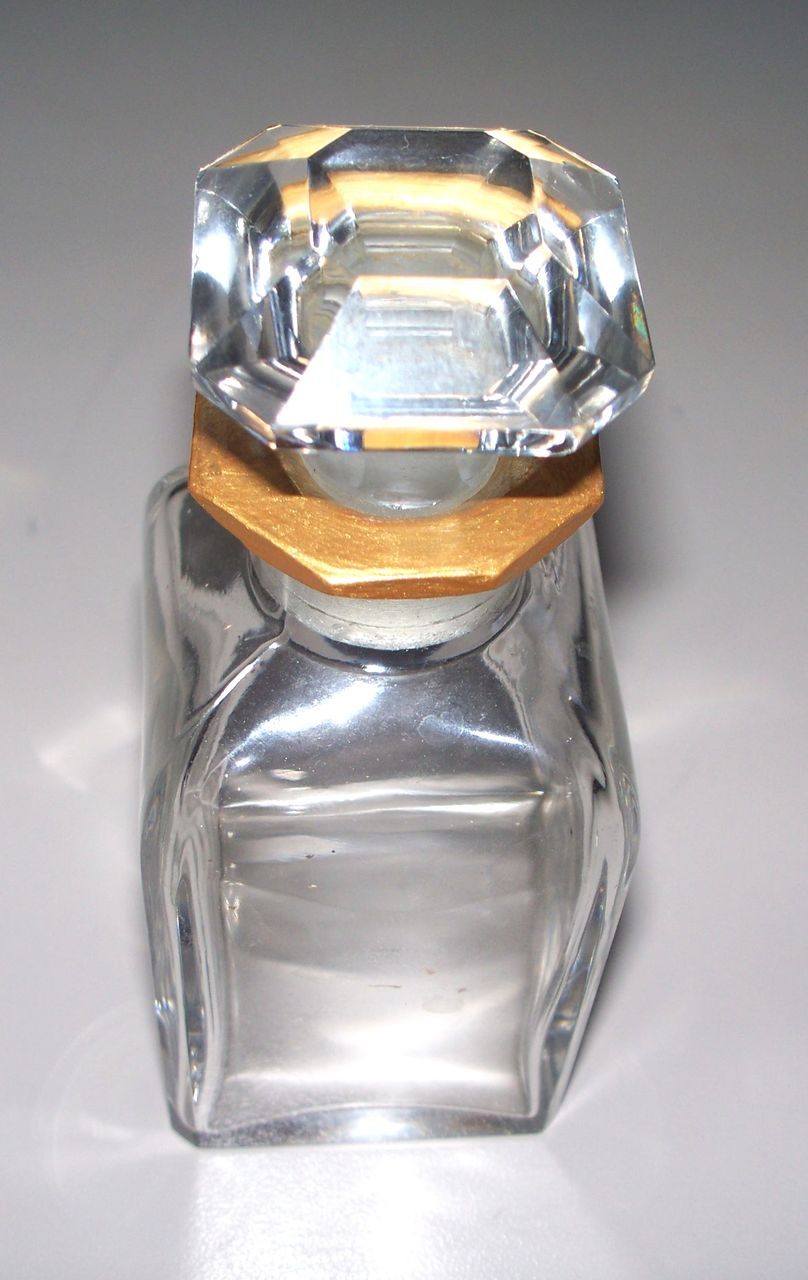 Baccarat Perfume Bottle    Signed