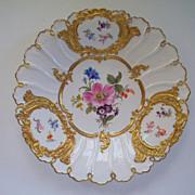 Antique Meissen Cabinet Plate
