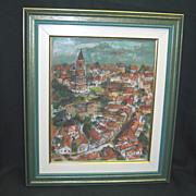 Ljiljana Radosavljevic Original Painting Signed RADO 2000
