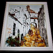 Famous French Artist BERNARD DUFOUR Original Authentic Oil Painting