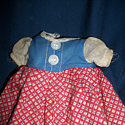 Very Sweet Dress w/attached panties  for Effanbee Small Patsy doll Free P&I US Buyers