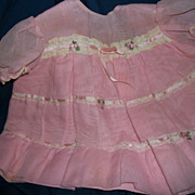 Designer Style Dress For Toddler or Large Doll Free P&I US Buyers
