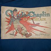 1917 Charlie Chaplin Up In the Air cartoon book E C Segar free P&I U S buyers