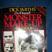Dick Smith Do It YourSelf Monster Make-UP Handbook Free p&I US Buyers