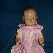 "15"" Effanbee Baby Dainty Compo Doll  Free P&I US Buyers"