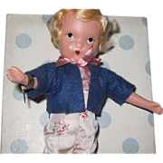115 Little Boy Blue MIB Nancy Ann SB Doll Free P&I US buyers