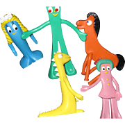 Nice Group of Gumby toys Free P&I US buyers