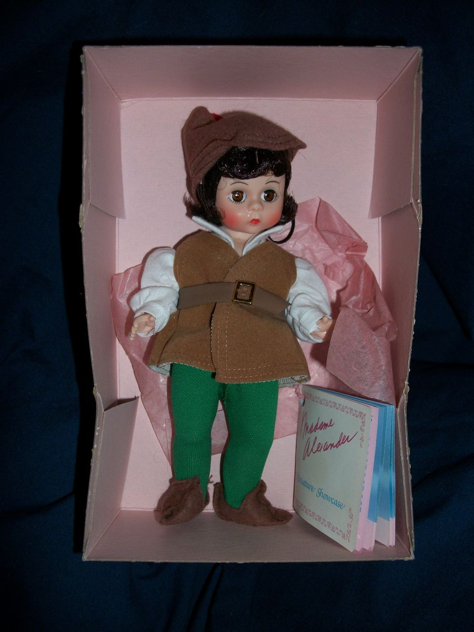 "Cute Madame Alexander 8"" Robin Hood Doll Free Postage & Ins"