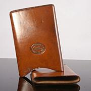 Superb  Fine Quality Vintage Hide Cigar Case