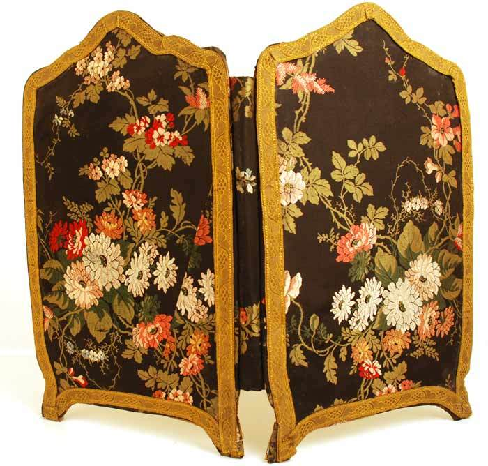 Antique Miniature Standing Screen