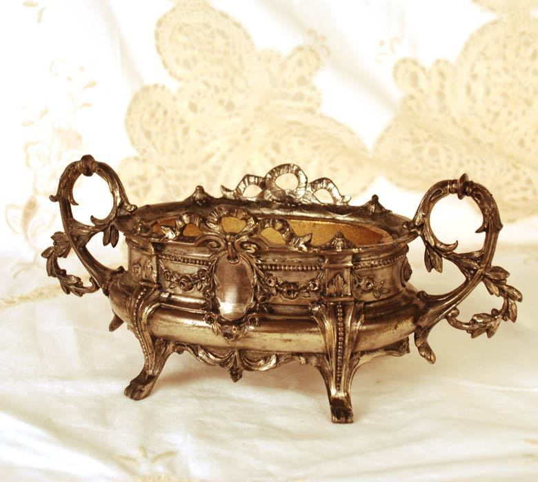 Antique French Nineteenth Century Two Piece Table Jardiniere/Port Fleurs