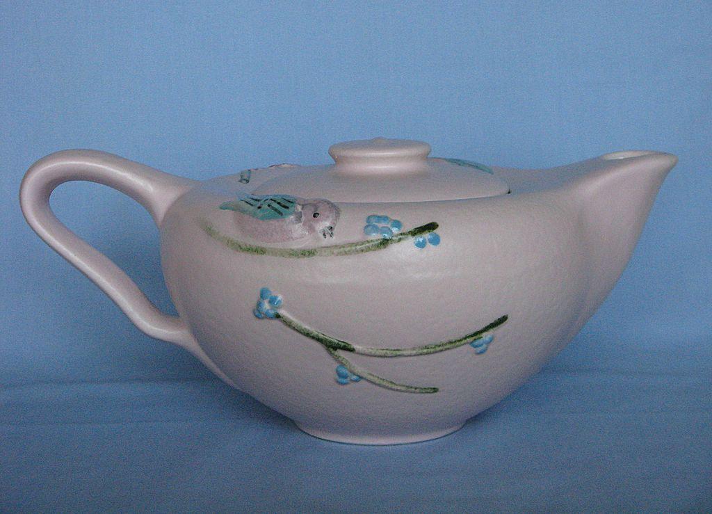 Hull Pottery Pink Serenade Teapot