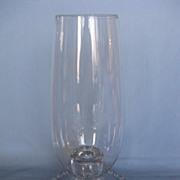 Imperial Glass Candlewick  Hurricane Lamp