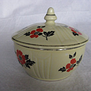 "Hall China Red Poppy ""Radiance"" Drip Jar and Cover"