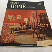 The American Home Magazine, November 1952 Issue