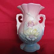 "Hull Pottery Magnolia Vase 13 - 4-3/4"""