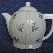 Porcelier 6 Cup Double Floral Coffee or Teapot