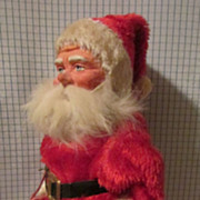 Wonderful Paper Mache Santa from Germany!