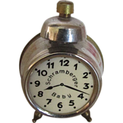 SALE!!!  Schramberger Baby Miniature Alarm Clock 4 Your Doll!