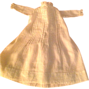 Lovely White Doll Dress for Early Doll or China Head!