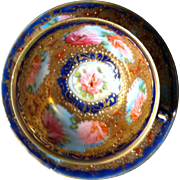SALE Beautiful Nippon Cup/Saucer with Elaborate Decoration