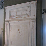 Antique Country French Architectural Boiserie Panel