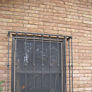 Vintage Iron Architectural Window Grates (4 Available)