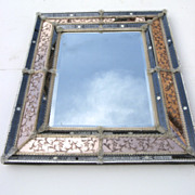 Hollywood Regency Venetian Mirror