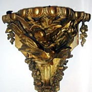 Wonderful Carved Gilt and Gesso Wall Bracket