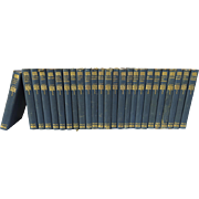 Set of 25 Volumes, The Works of Sir Walter Scott