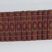 Set of 16 volumes of Muhlbach Novels