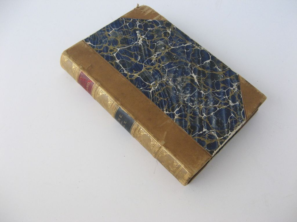 Leather Bound Book History of England