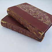 Pair of Antique Books by John Heneage Jesse