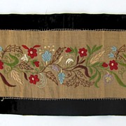 Embroidered Scarf 1879