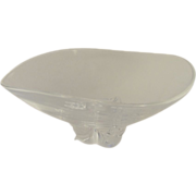 "Steuben Glass Trillium Bowl Signed 10"""