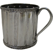 Spanish Colonial Small Ribbed Cup