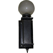 Mission Wall Sconce